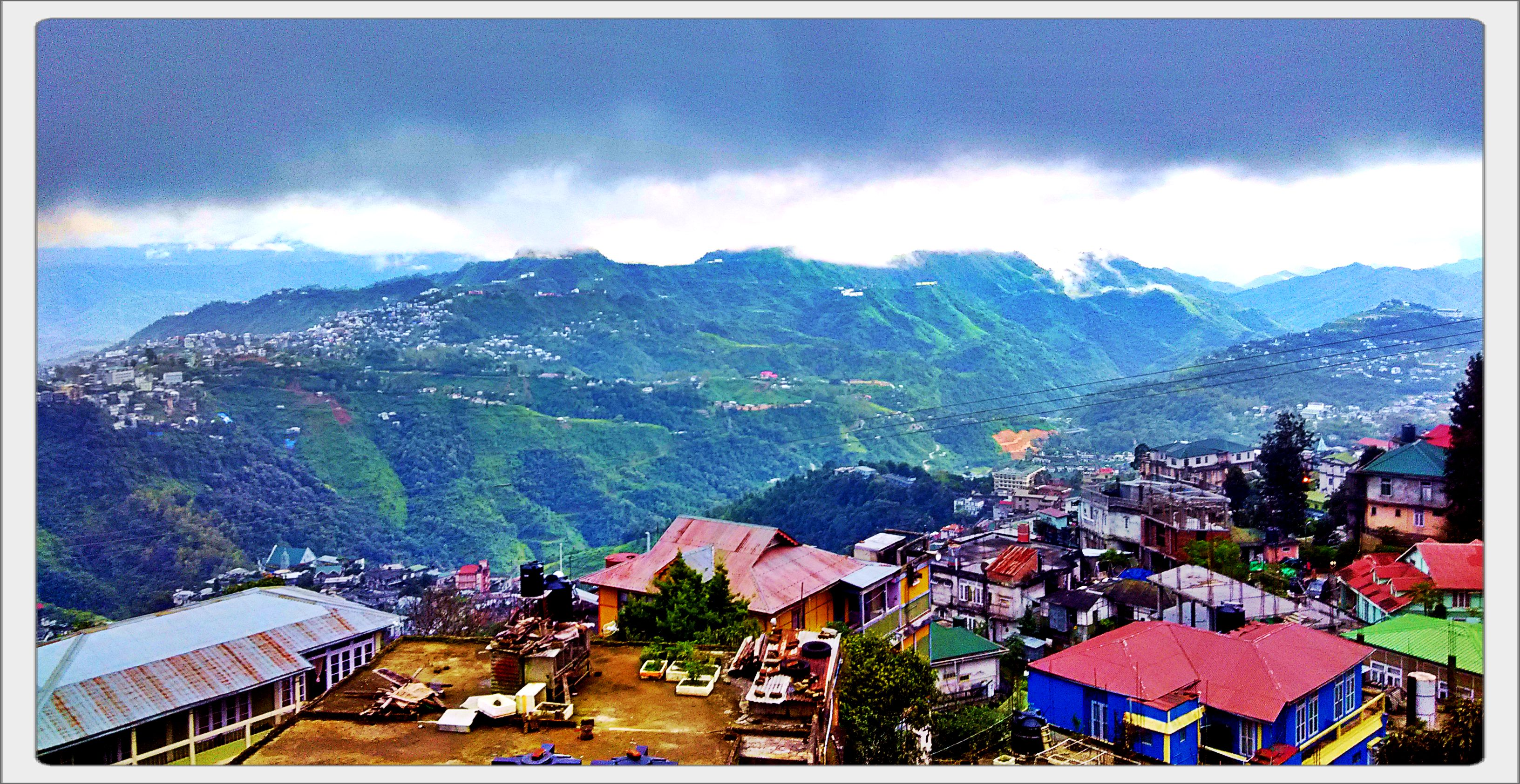 Aizawl Moonsoon